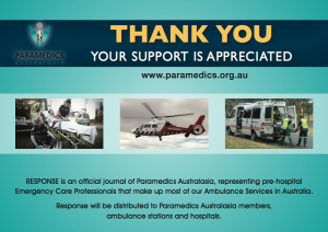 Supporting Paramedics Australia
