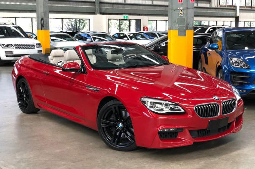 BMW 640i M Sport</br>3.0 Litre Turbo Petrol V6(NSW gry clr in list)