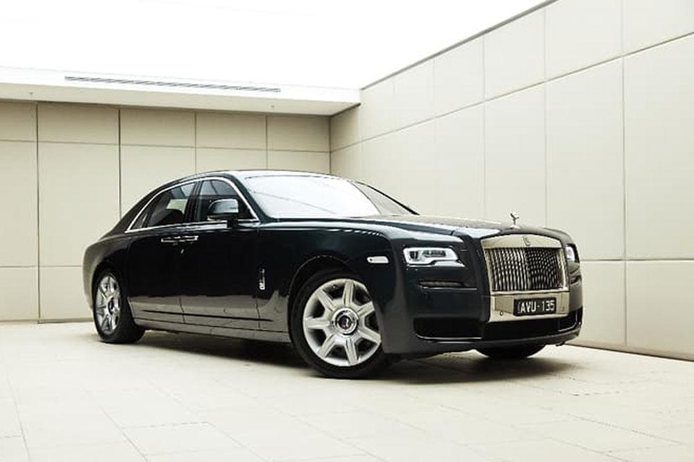 Rolls Royce Ghost</br>12 Cylinder Petrol Twin Turbo Intercooled 6.6L