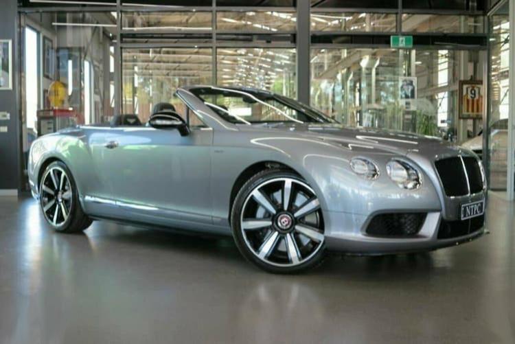 Bentley Continental GT V S  Dark Grey