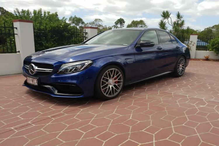 Mercedes Cs AMG  Blue
