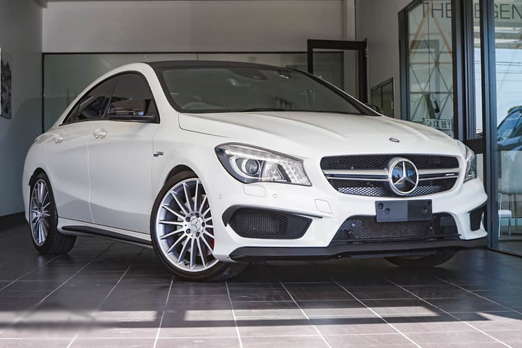 Mercedes CLA  White