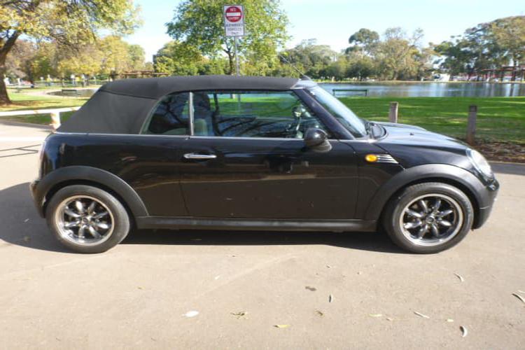 Mini Cooper S Cabrio Highgate  black