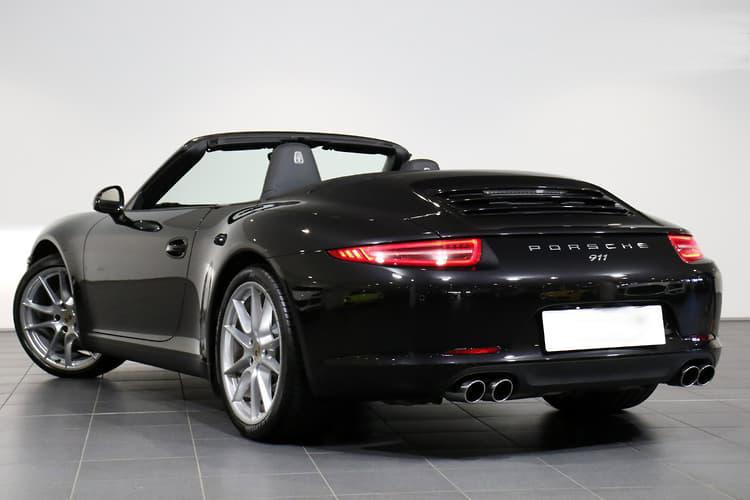 Porsche  Carrera S  Black