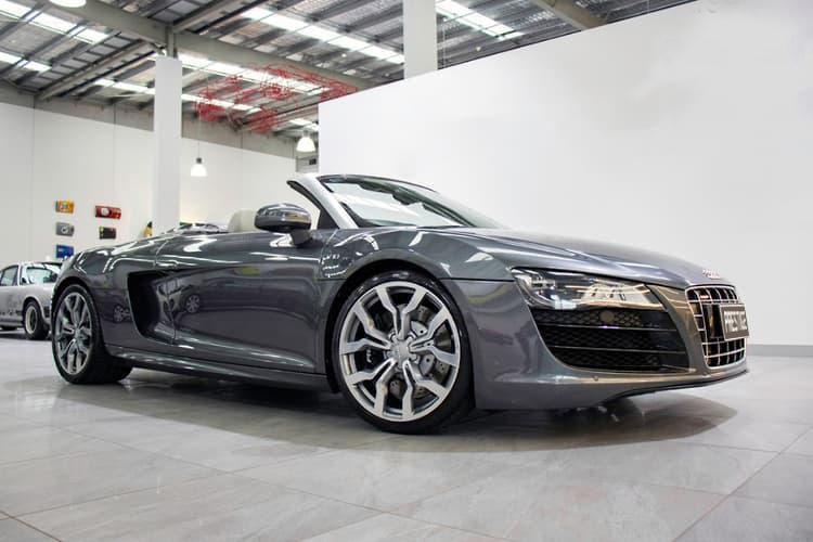 Audi R Satin Grey   V