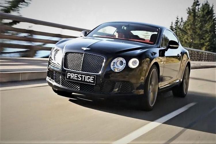 Bentley Continental GT </br> 4.0L Twin Turbo V8