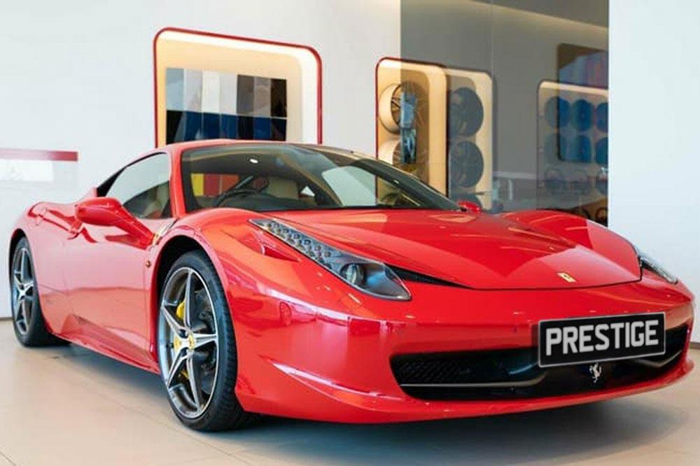Ferrari 458 GTB <br> 4.5L V8