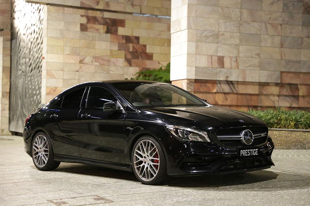 Mercedes CLA45 AMG</br>2.0L Turbo Intercooled V4