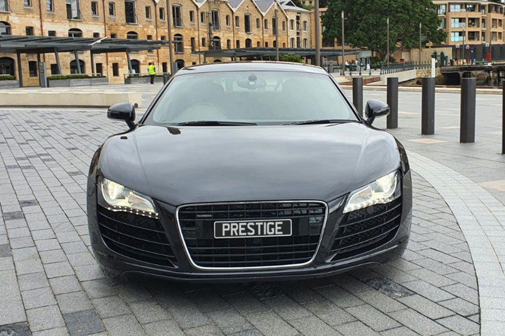 Audi R Black