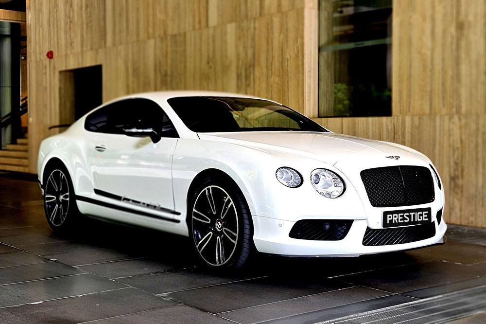 Bentley Continental White Website