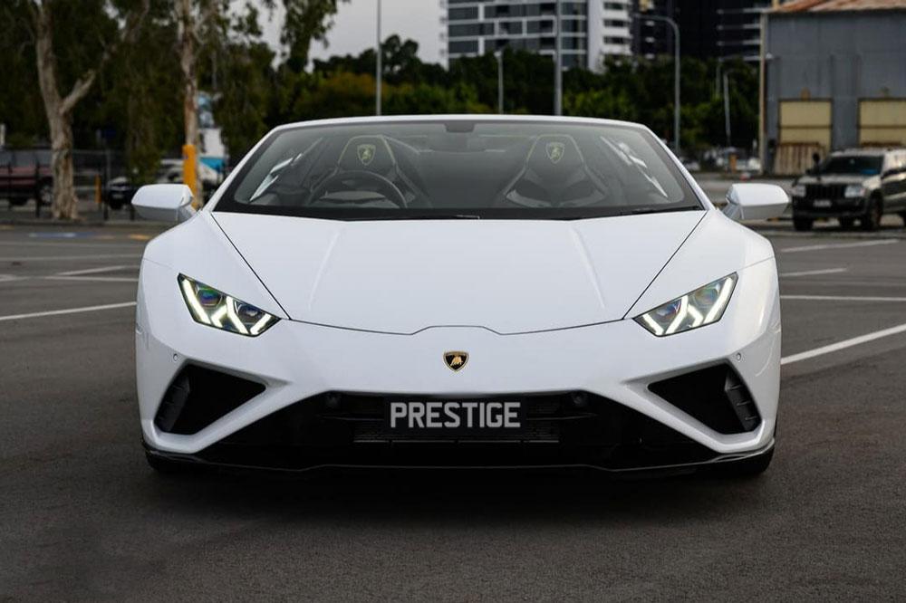 Lamborghini Huracan Evo Website