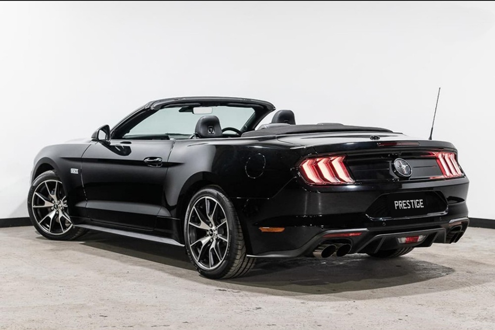 Ford Mustang Convertible Website