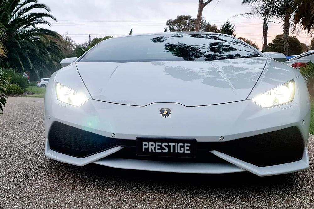 Lamborghini Huracan Website