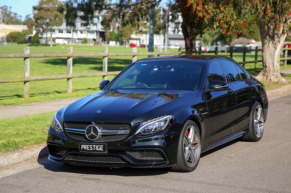 Mercedes CS Black Website