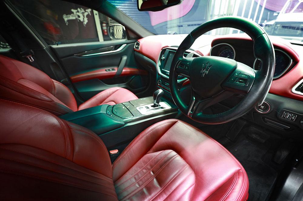 Maserati Ghibli Website