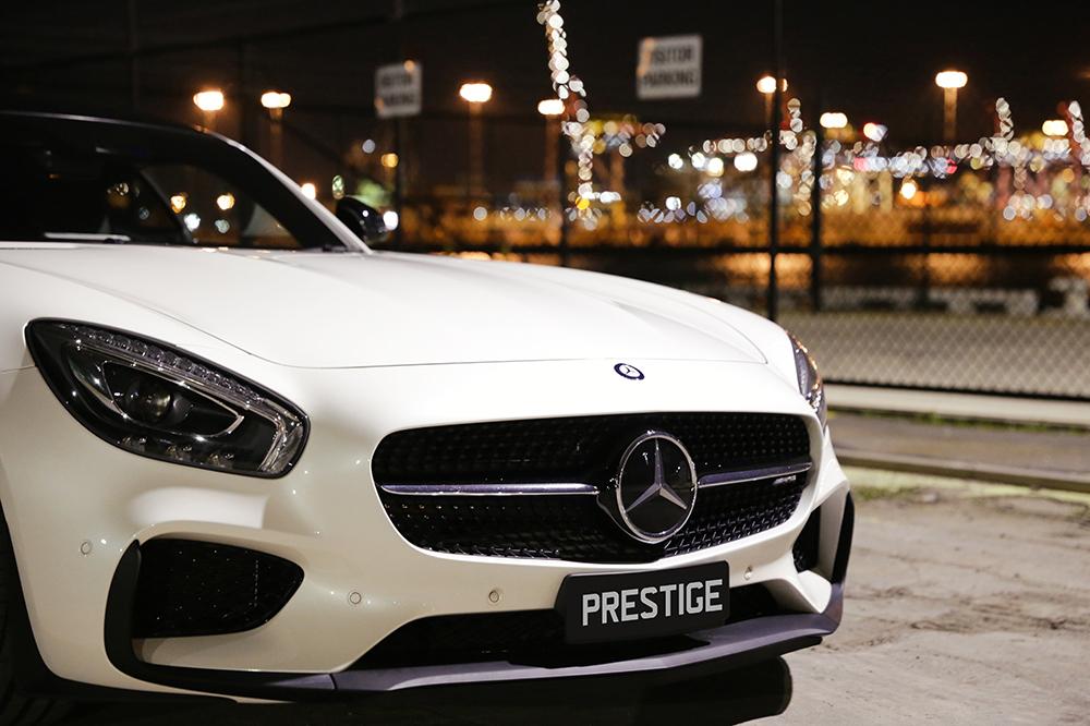 Mercedes GTS Website