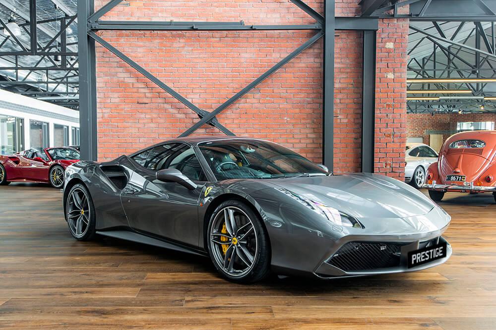Ferrari 488 </br> 3.9 L Twin-Turbocharged